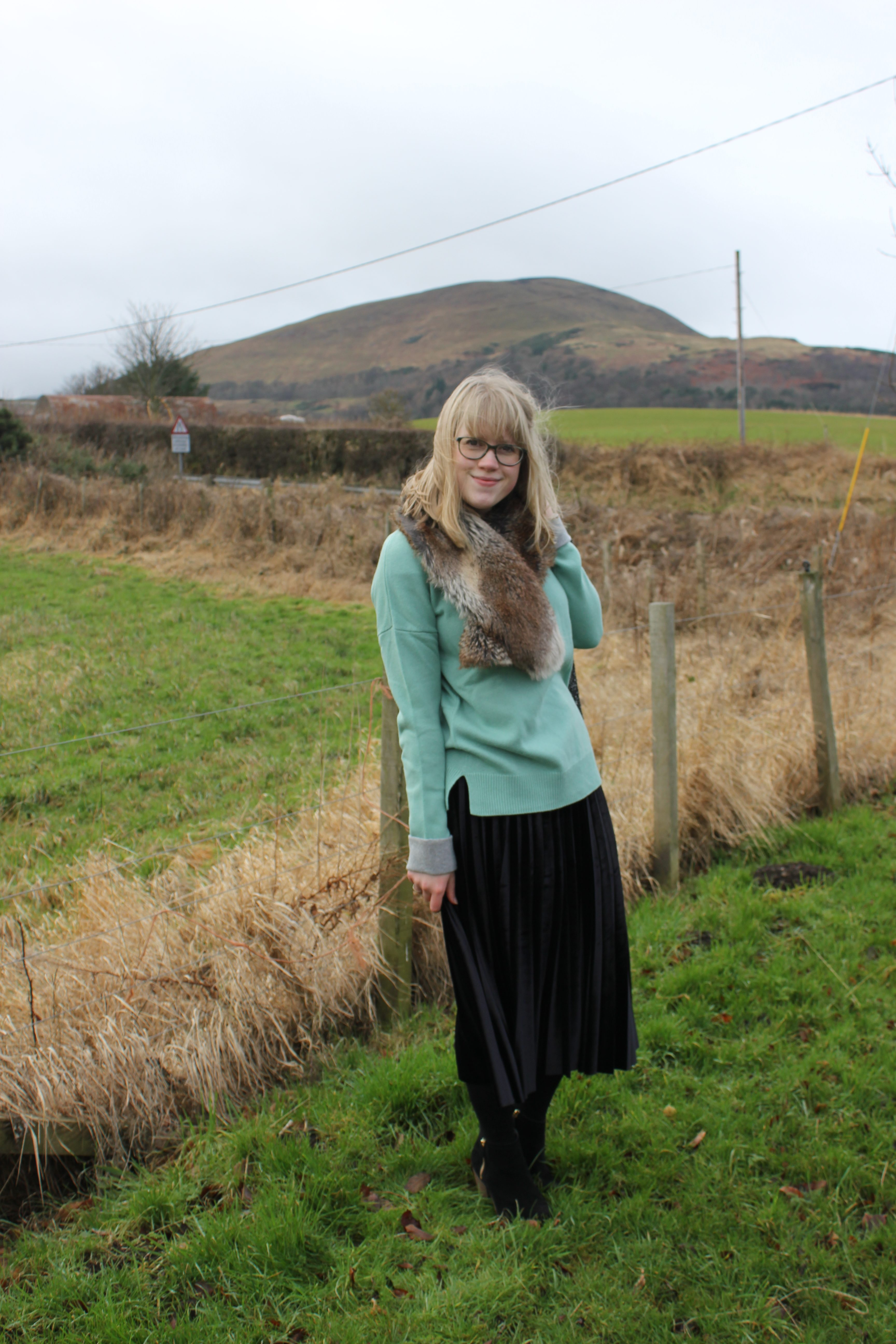 Mint Green Susannah Jumper, Boden