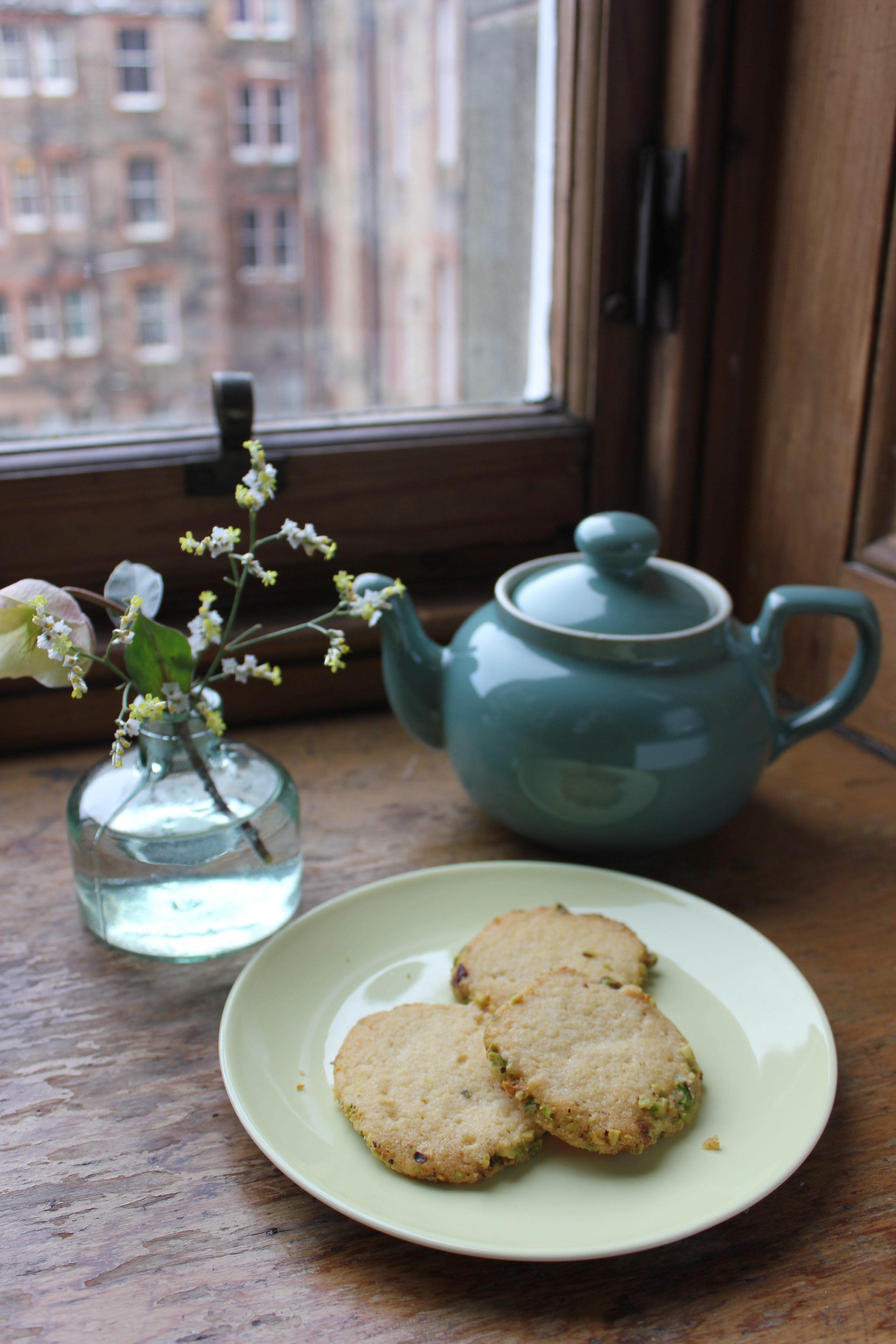 Lemon Pistachio Biscuits