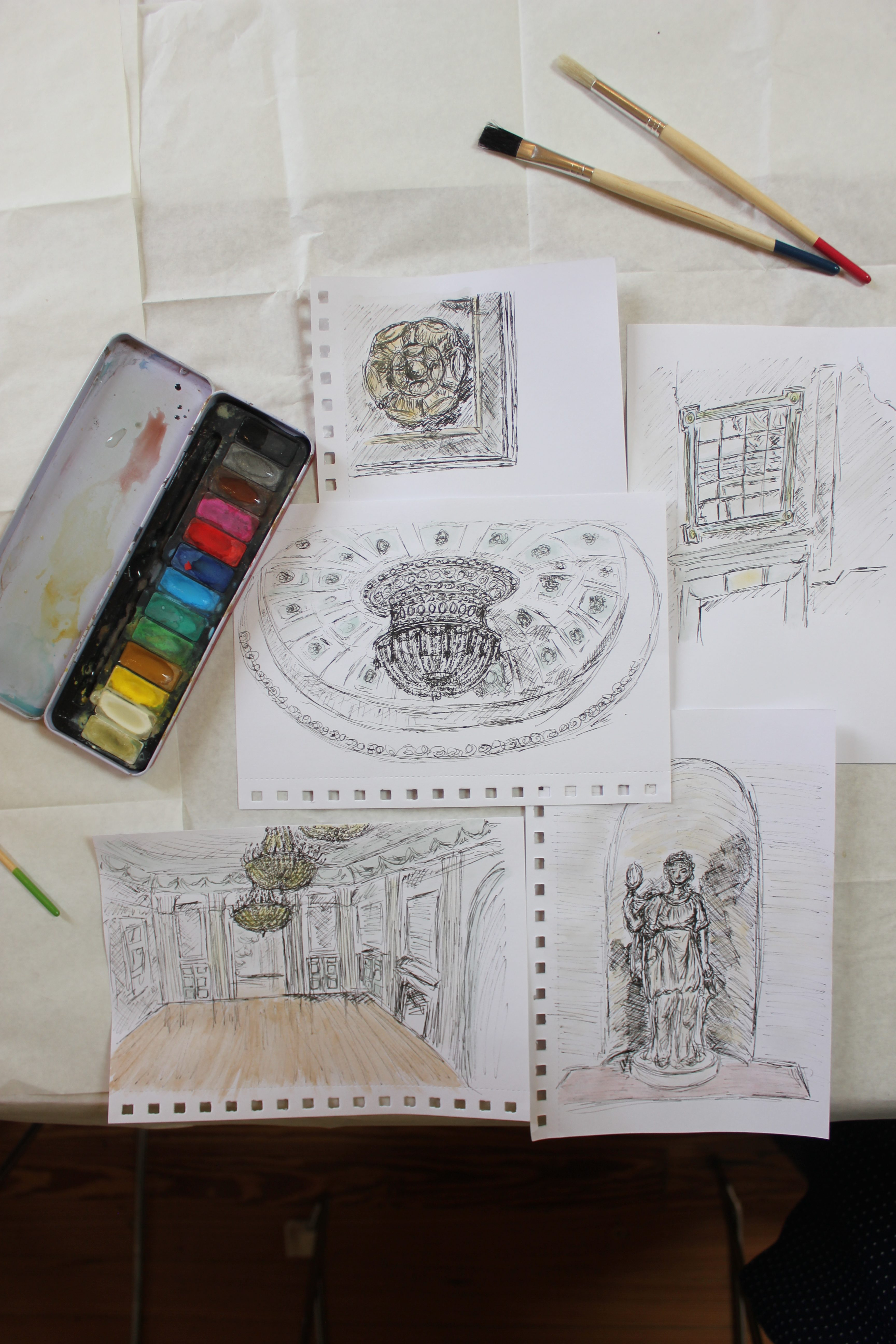 Edinburgh Sketcher Workshop