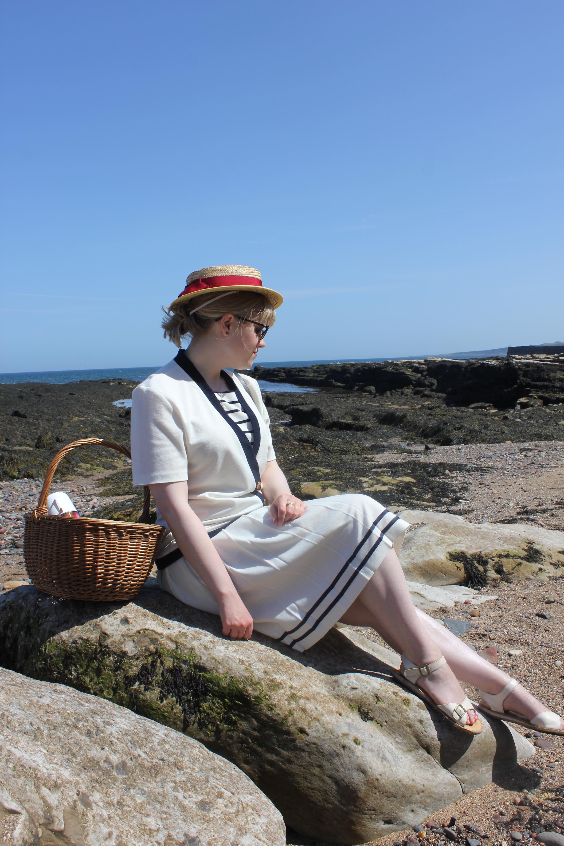 1920s style sailor dress