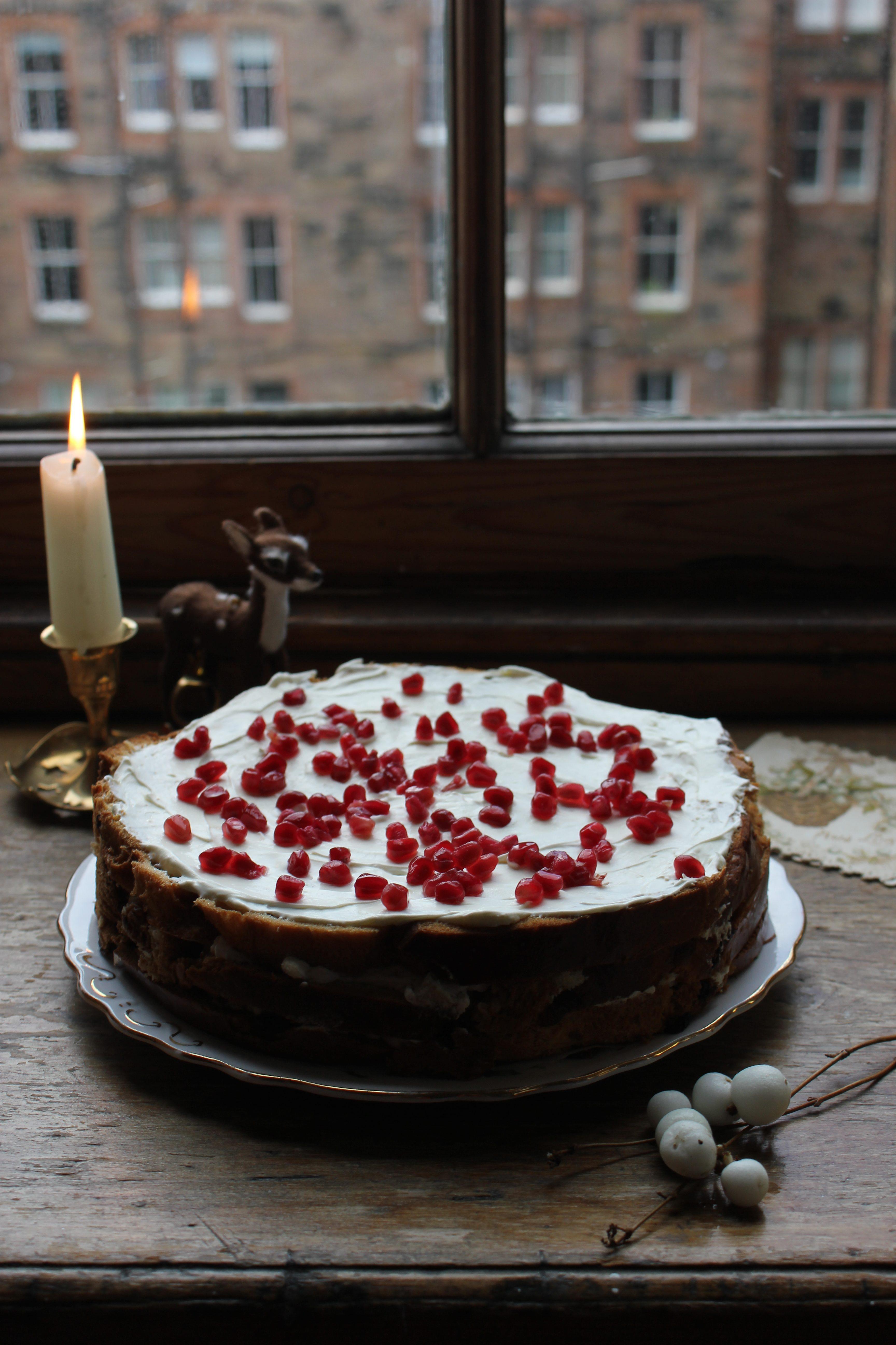 Nigella's Leftover Italian Christmas Pudding Cake