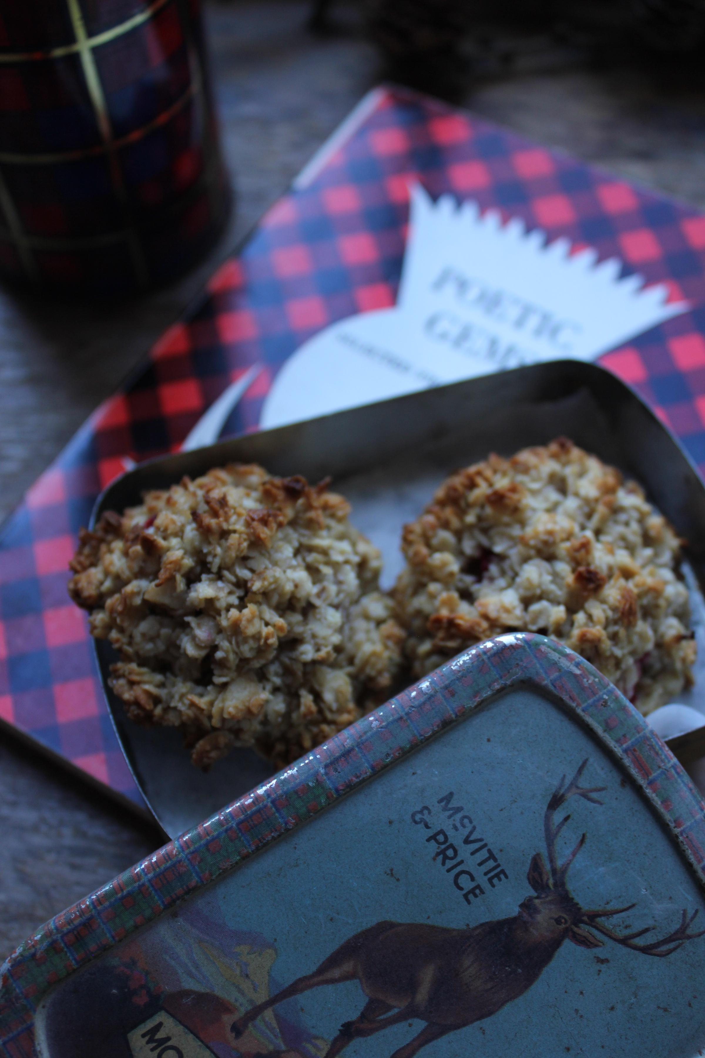 Cranachan cookies