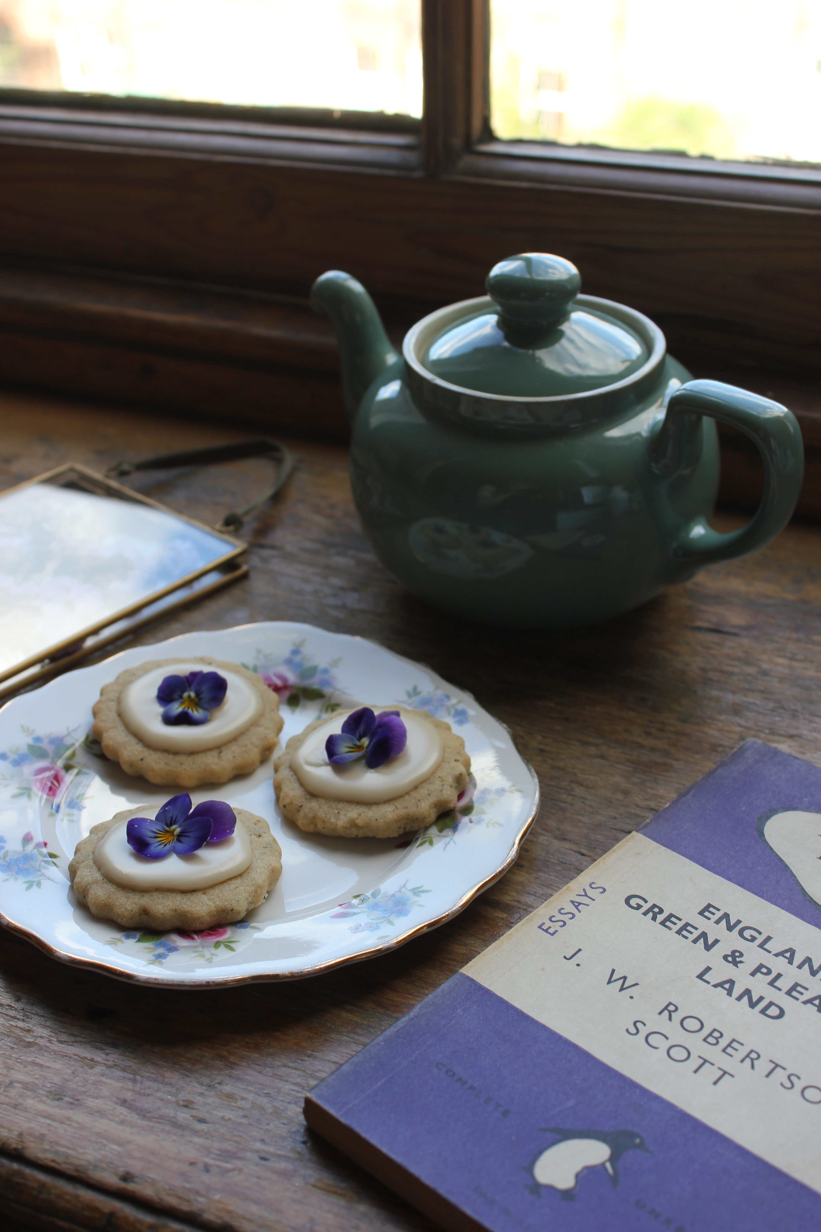 Lavender and Earl Grey Biscuits