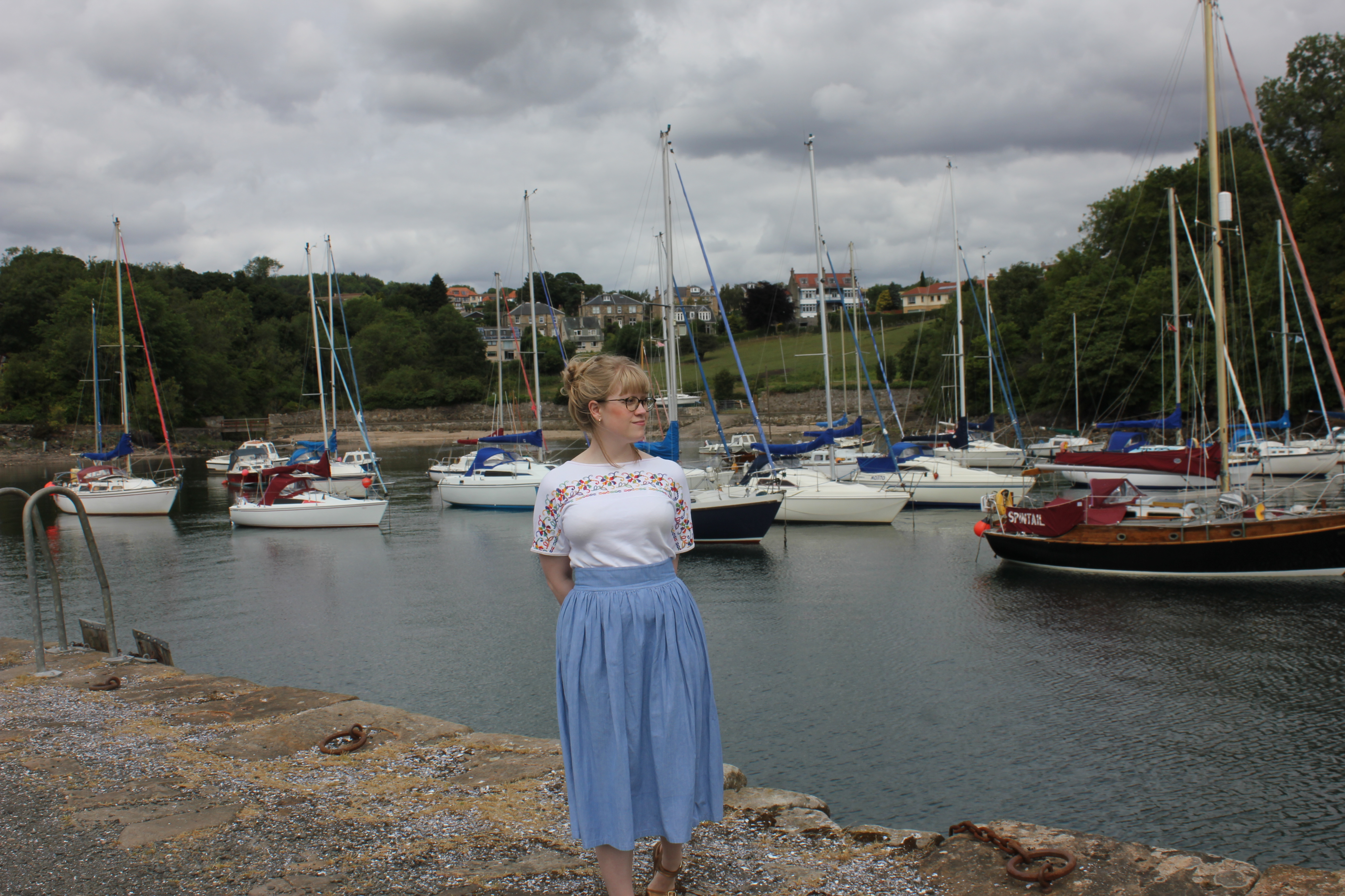 '50s dirndl skirt