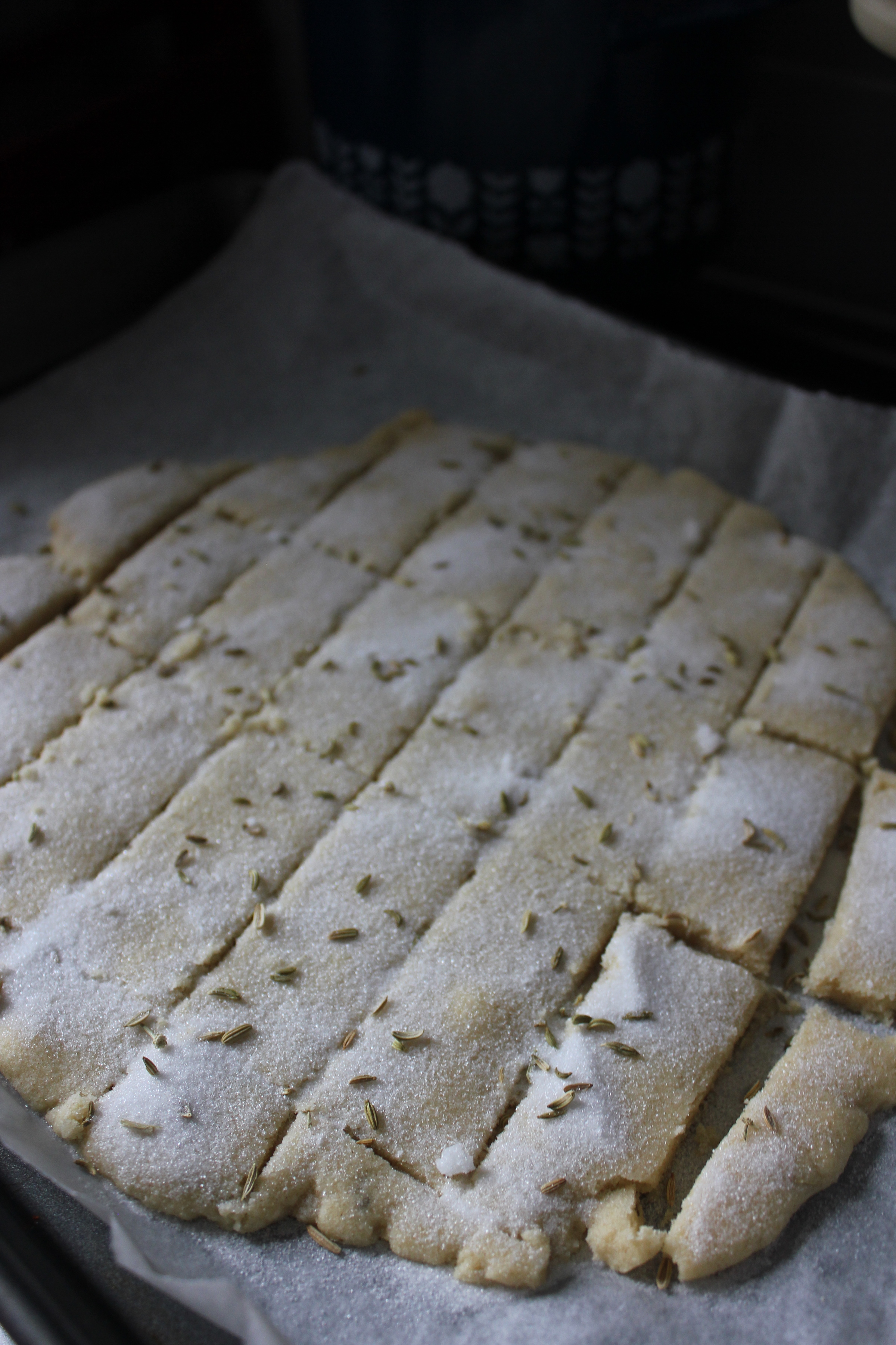 Fennel Seed Shortbread