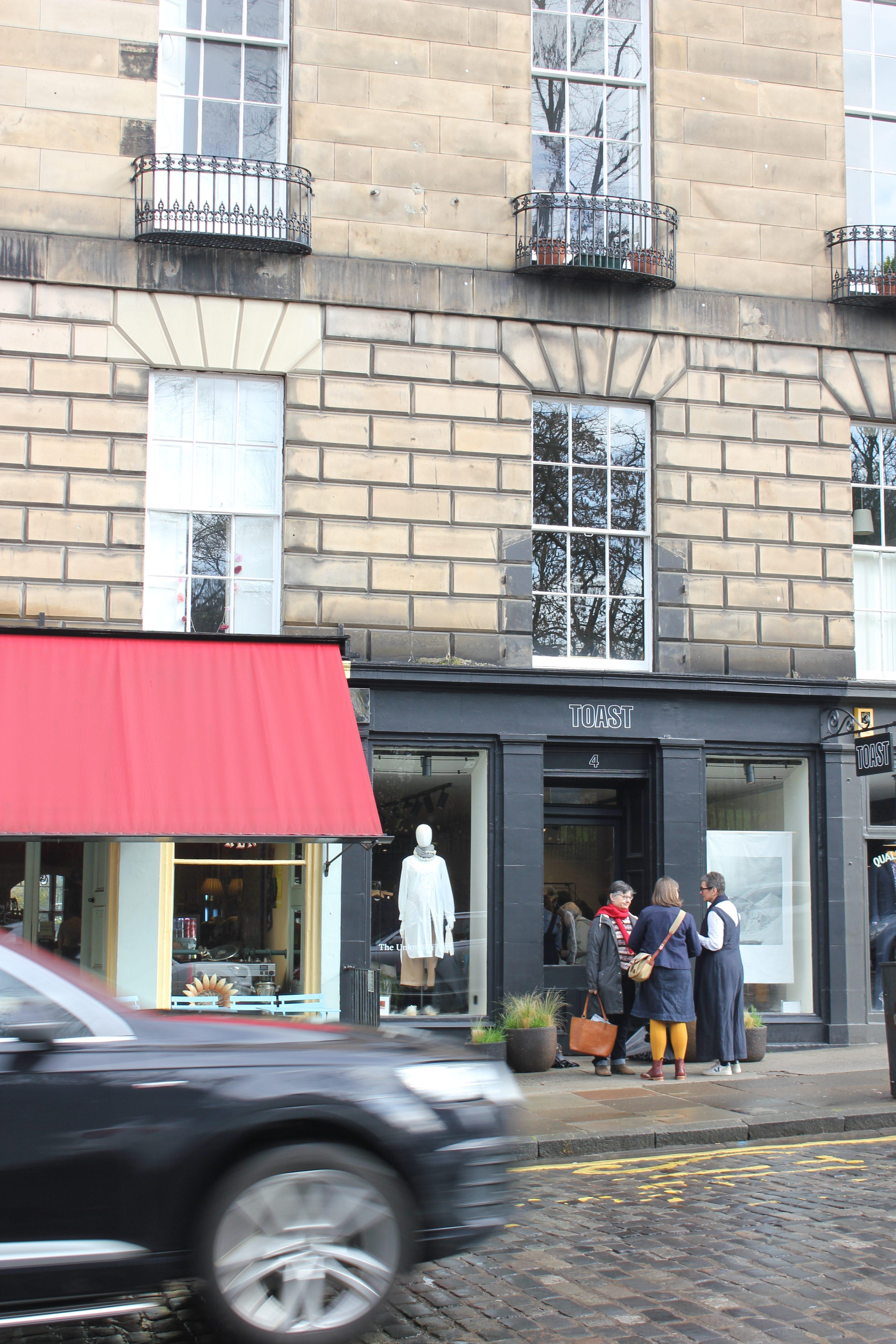 Toast, Edinburgh