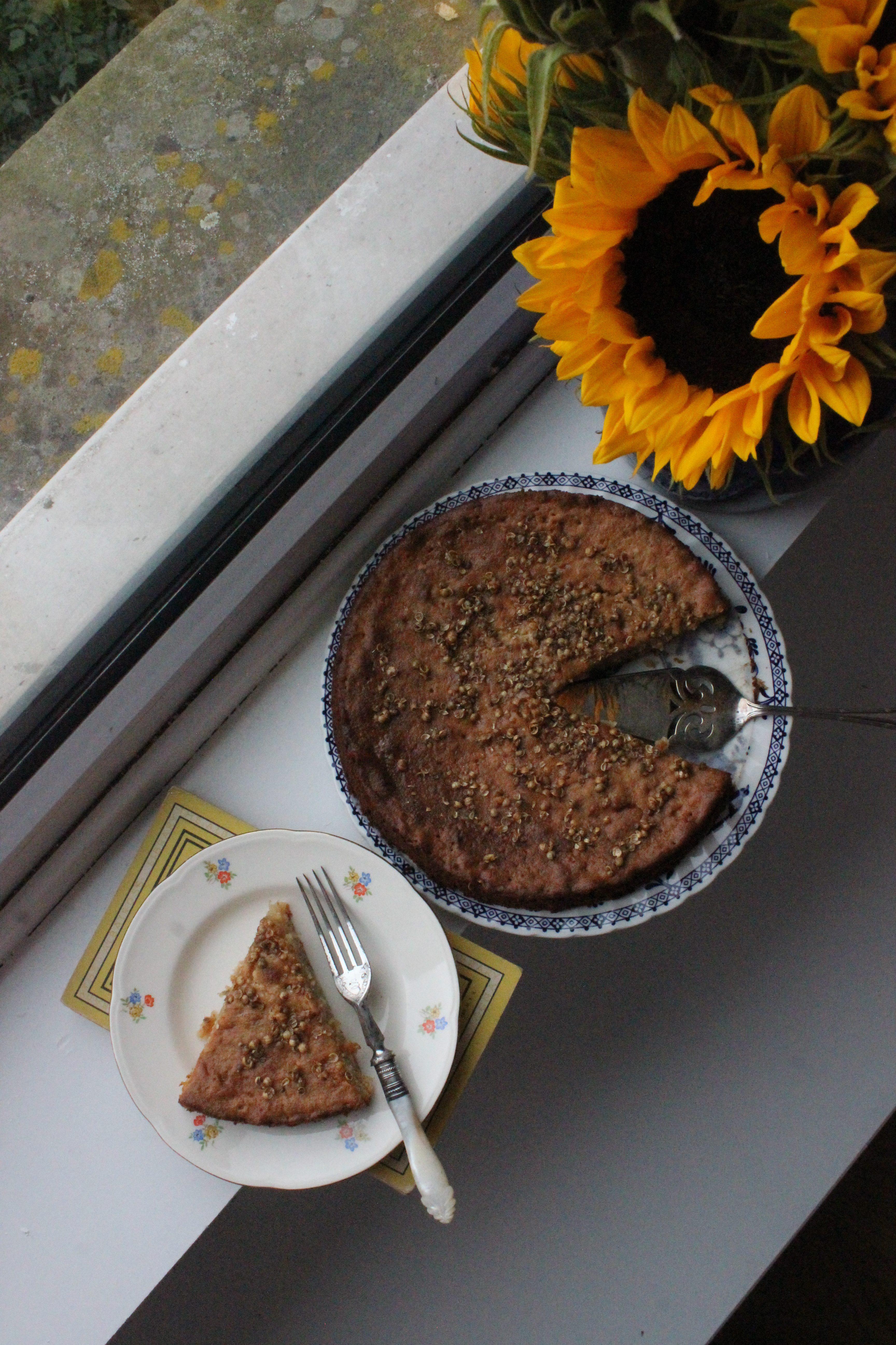 Honey Cake with Lemon and Coriander Seed