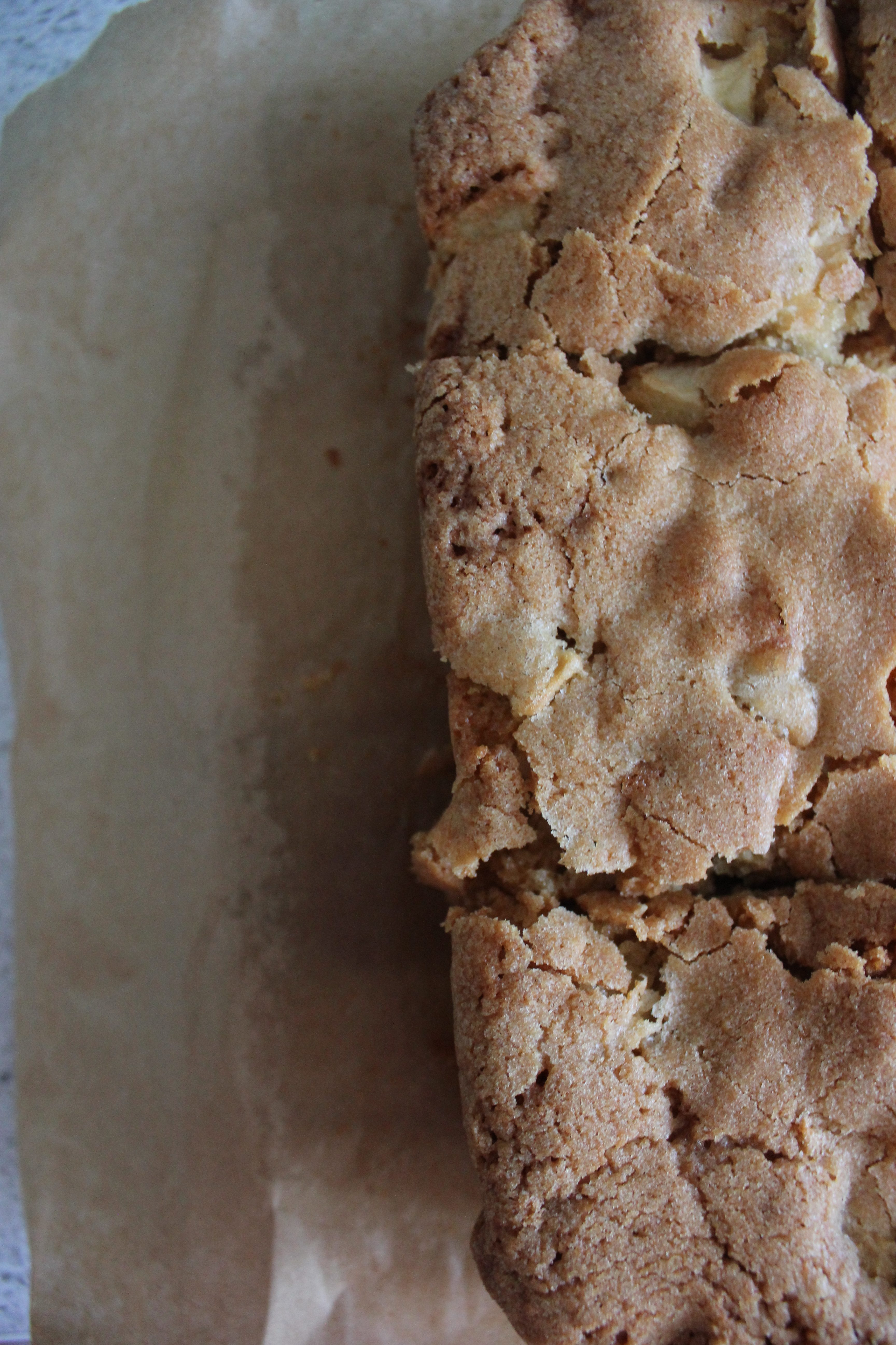 Toffee Apple Traybake