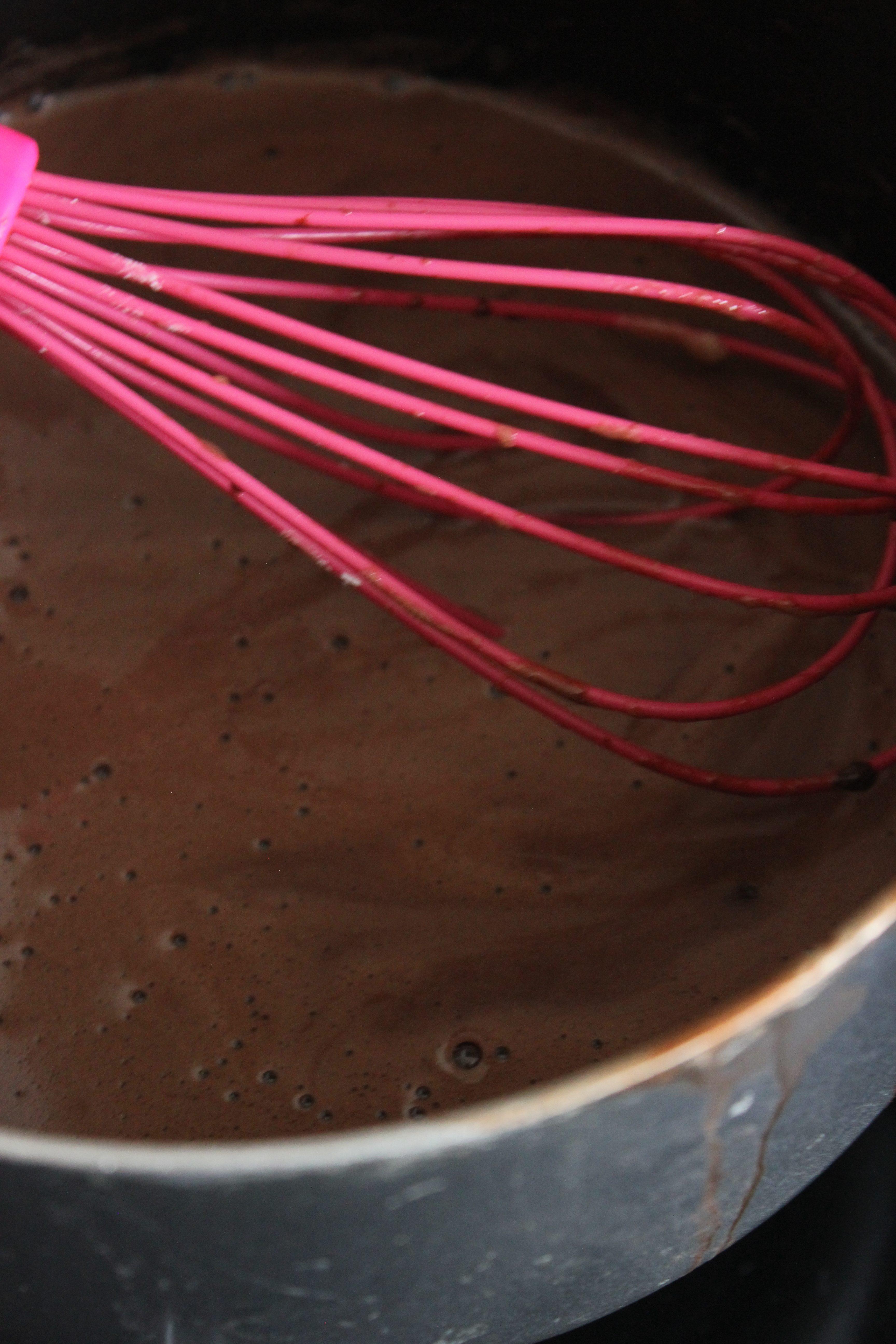 Peppermint Chocolate Profiteroles