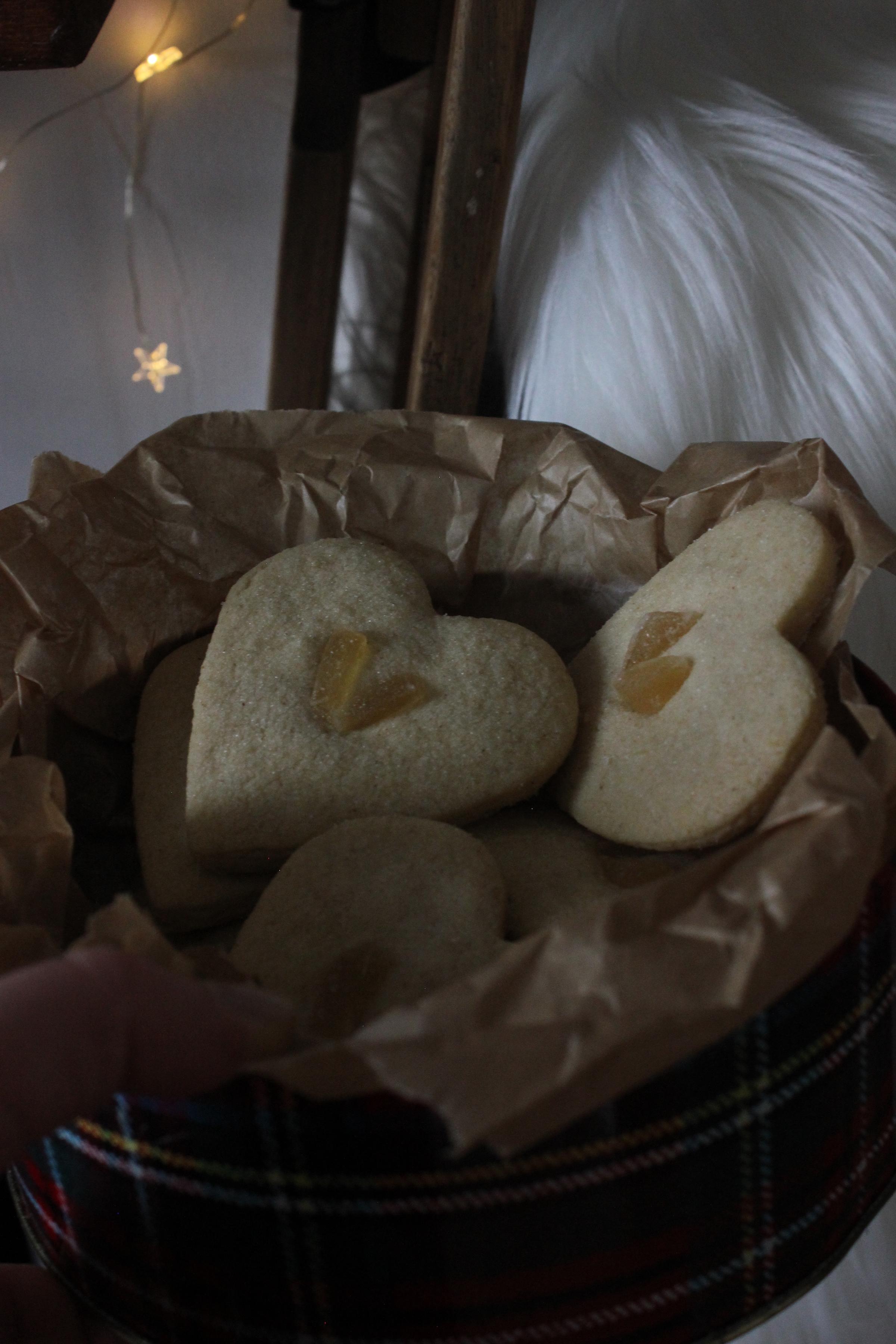 Triple Ginger Shortbread
