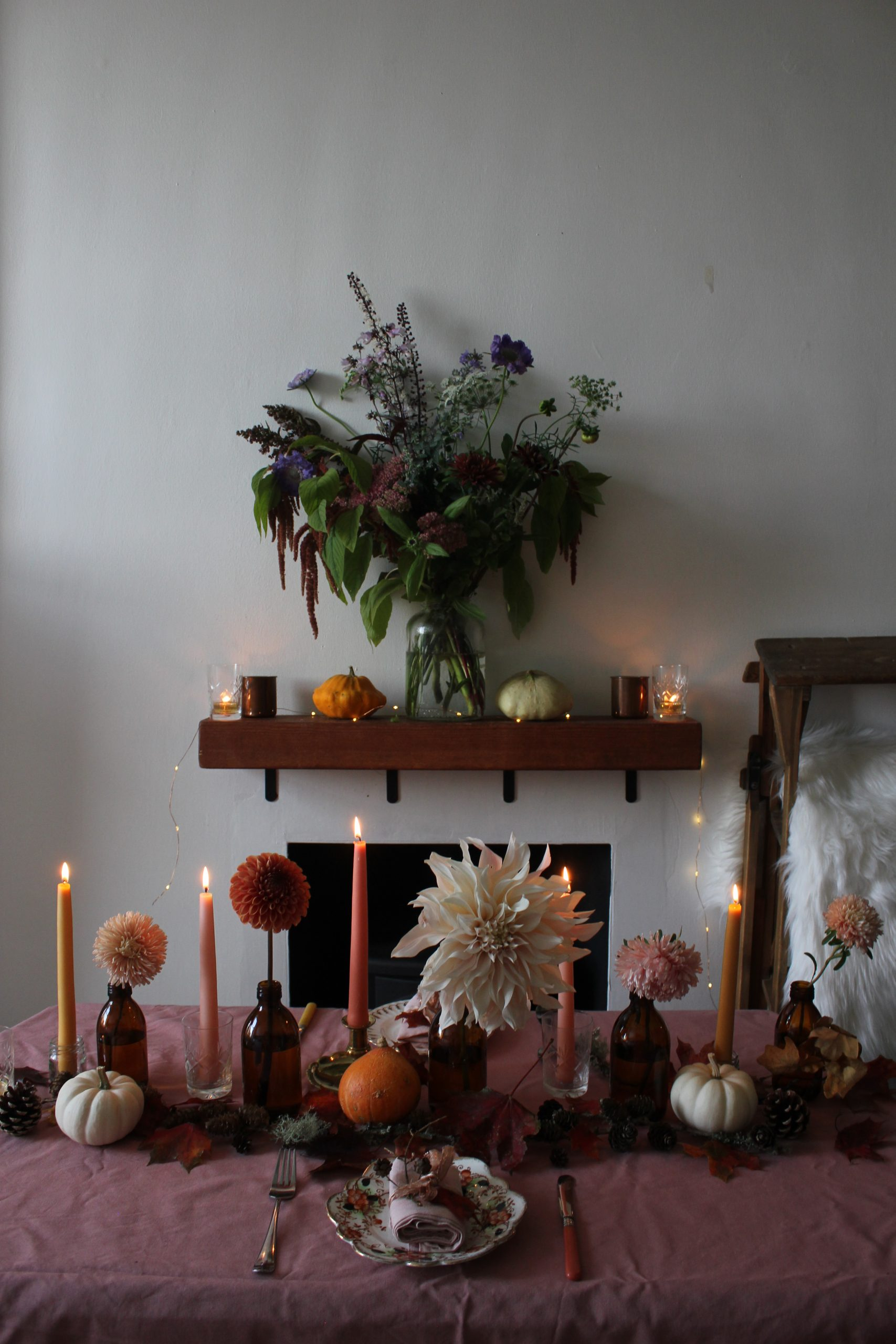 Autumn Equinox Tablescape