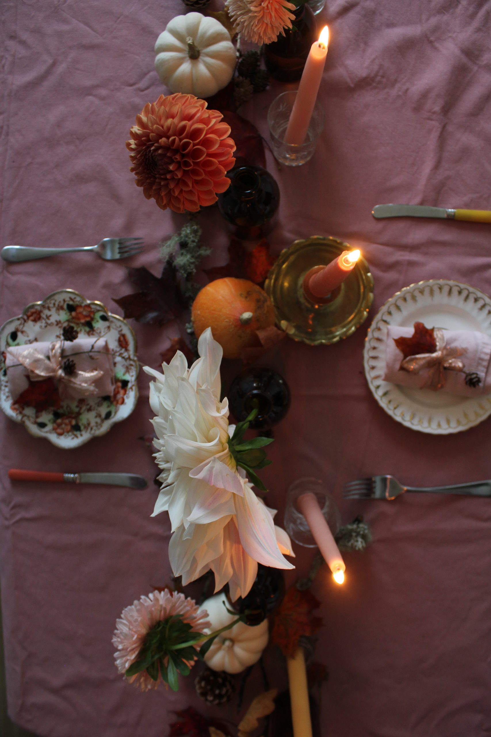 Autumn Equinox Tablescape