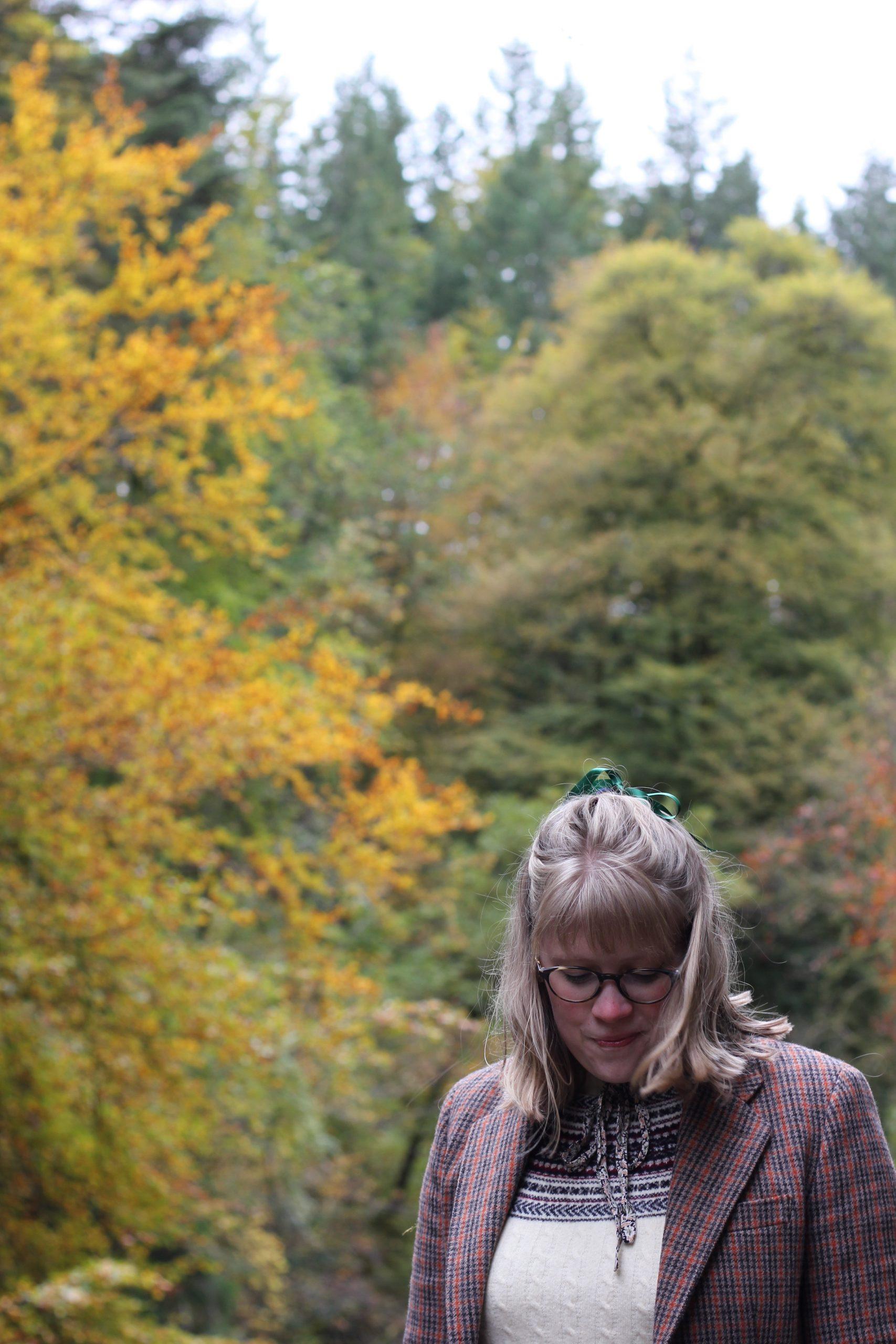 '70s Autumn Prairie Dress