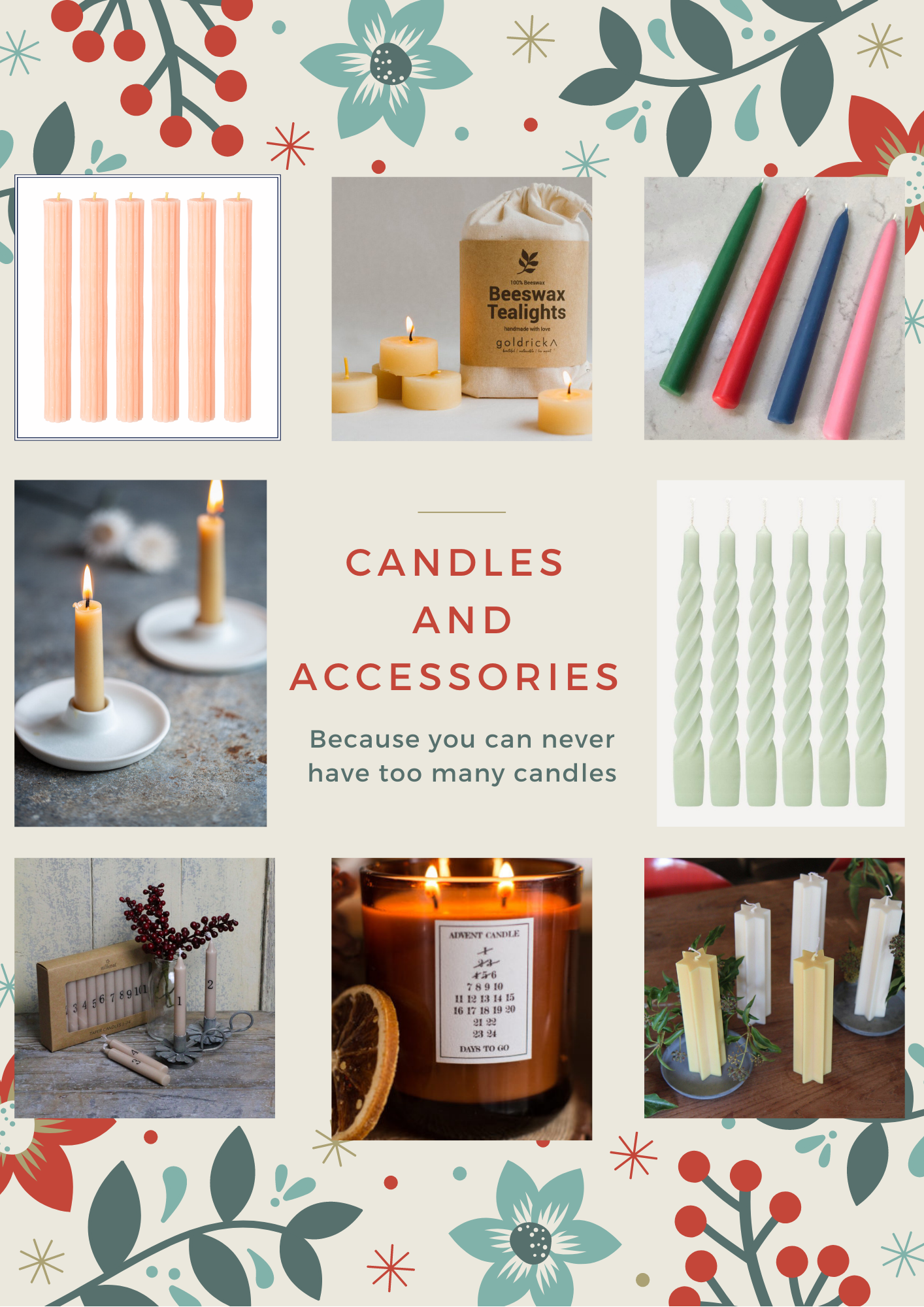 Independent shop candle gift guide