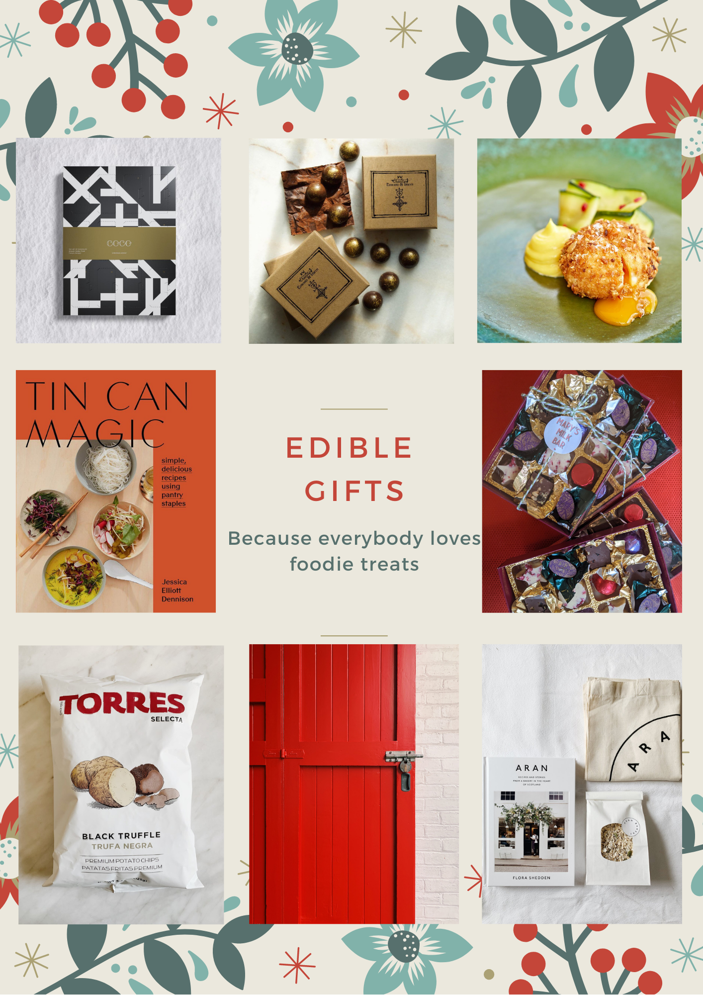 Independent Business Gifts for Foodies