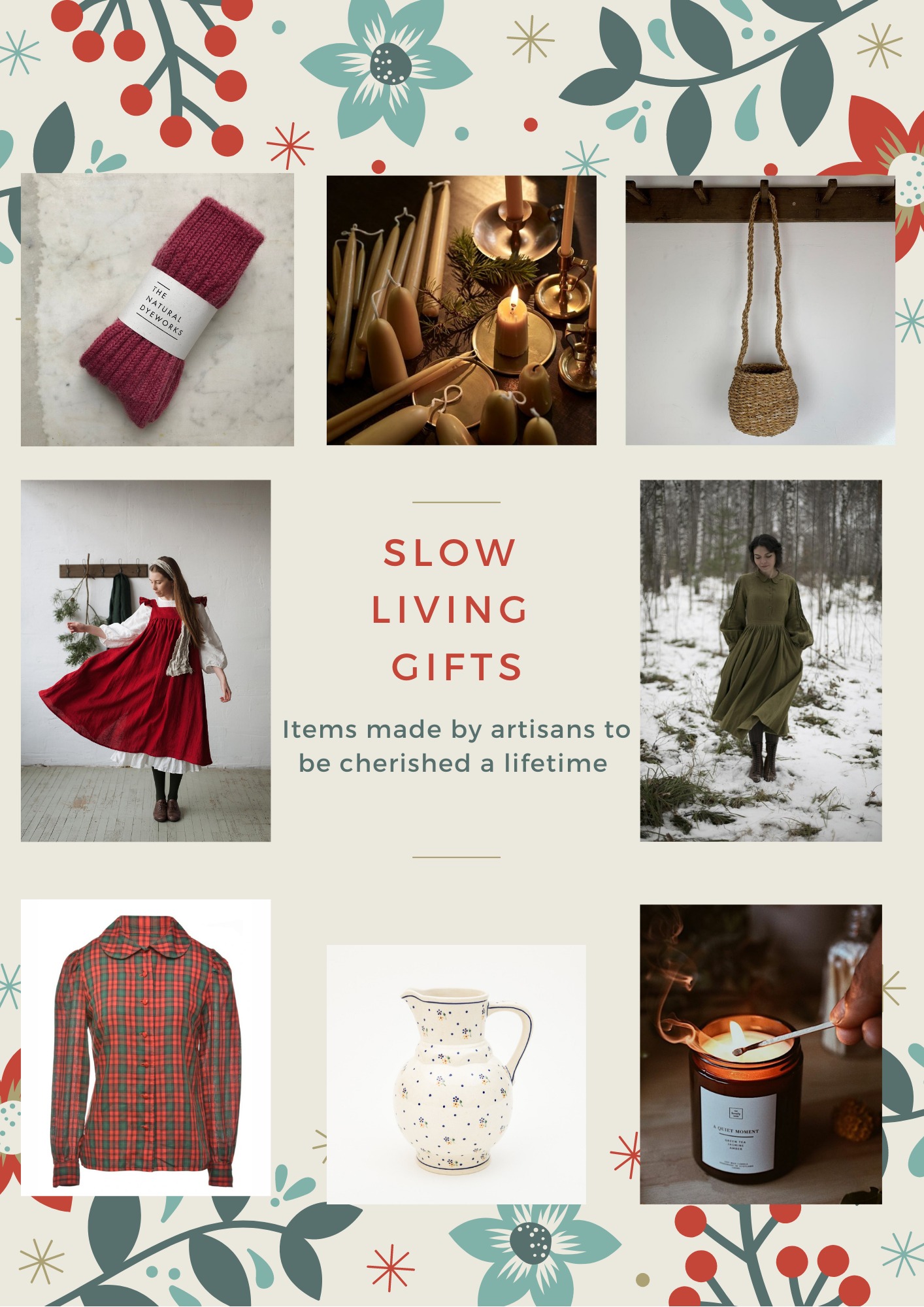 Slow living gift guide