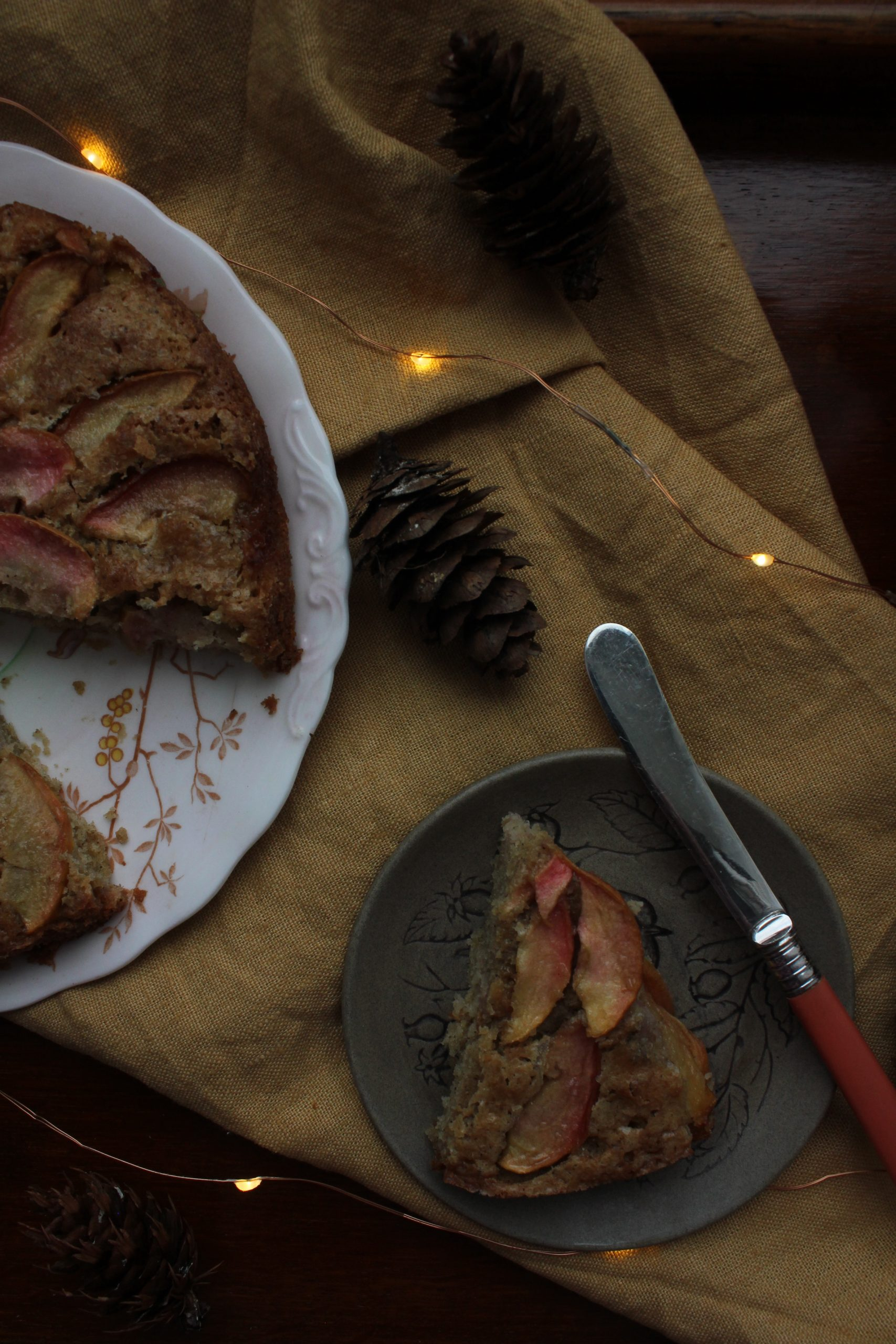 Apple and Star Anise Cake