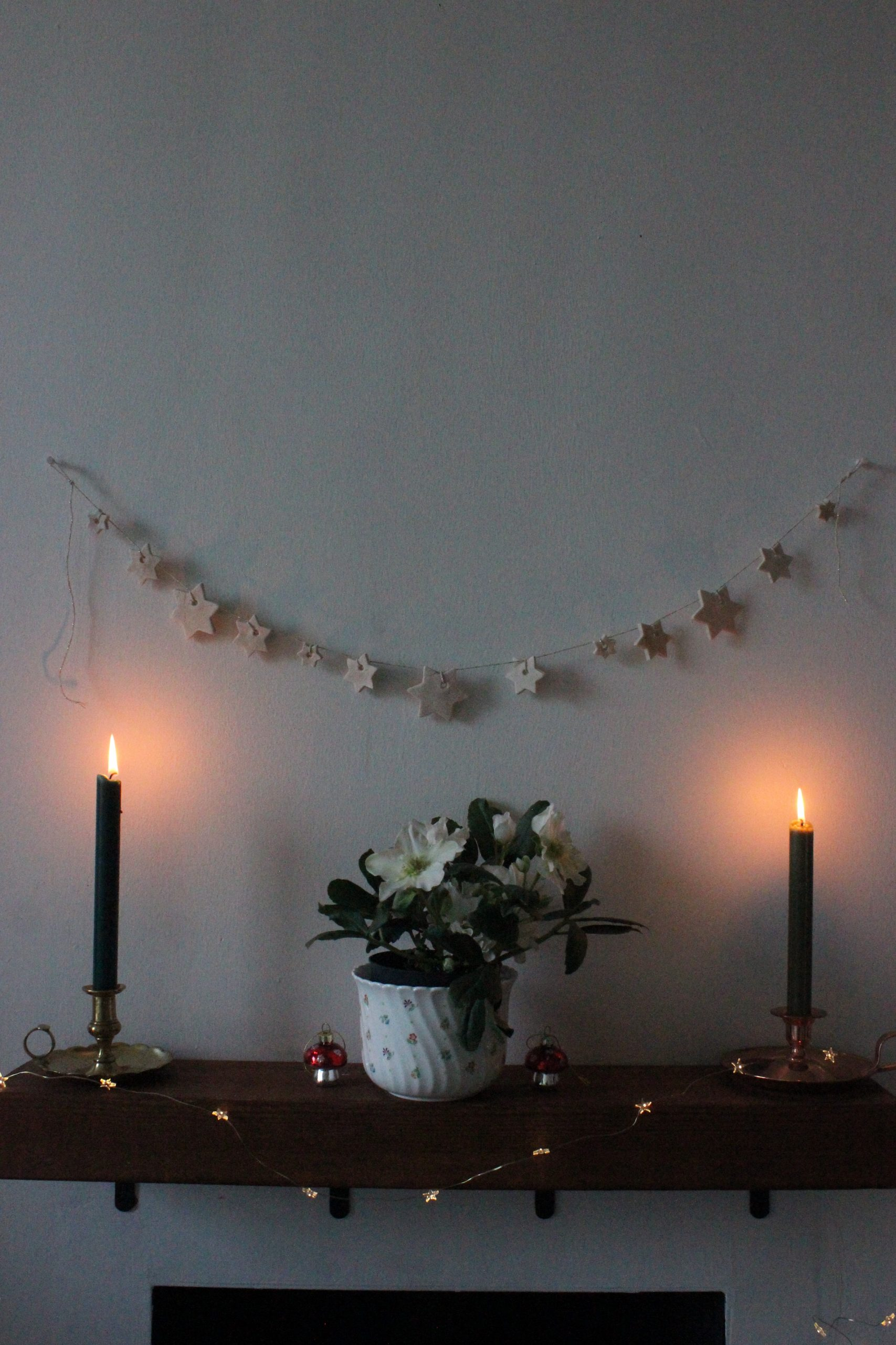 Salt Dough Star Garland