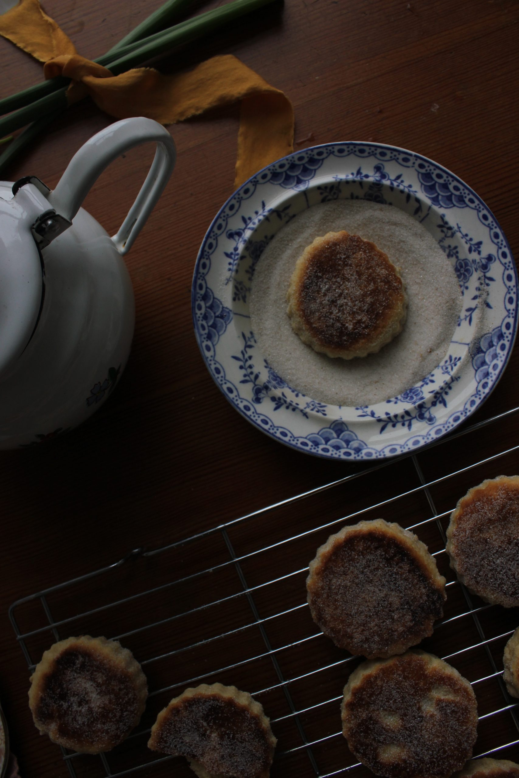 Lemon and Cardamom Welsh Cakes