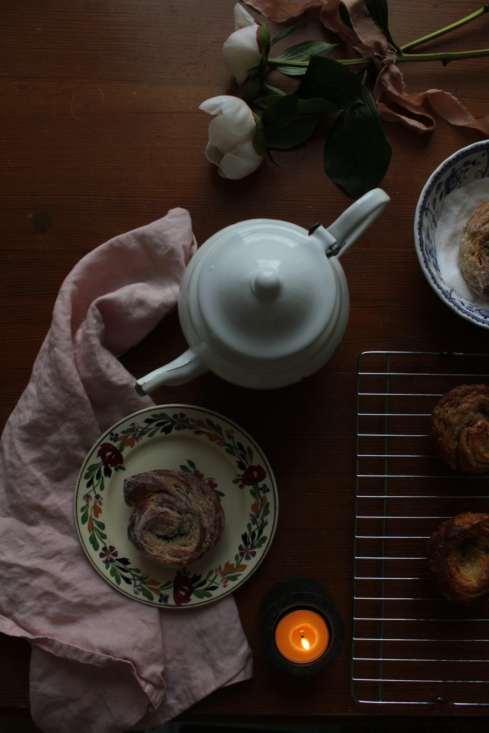 Lemon and Cardamom Morning Buns